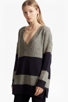French Connection Alice Nep Knit Stripe Jumper