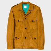 Men's Tan Suede Field Jacket