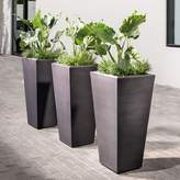 west elm Grooved Planters