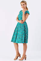 Emily And Fin NEW Womens Knee Length Dresses Claudia Dress Deckchairs