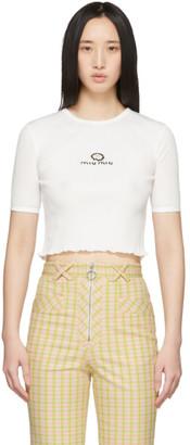 Miu Miu White Margarita Baby T-Shirt