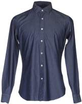 Mastai Ferretti Denim shirts - Item 42586910
