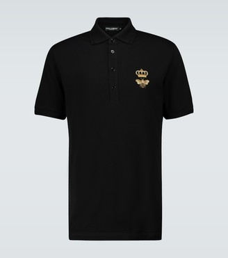Dolce & Gabbana Embroidered polo shirt