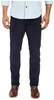 U.S. Polo Assn. Slim Straight Corduroy Five-Pocket Jeans in Mood Indigo