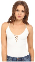 Free People The Cross Fire Lace-Up Cami