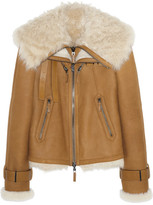 Fendi Shearling aviator jacket