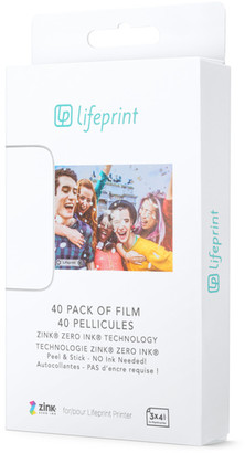 Lifeprint 3x4.5 Photo Film - 40-Pack