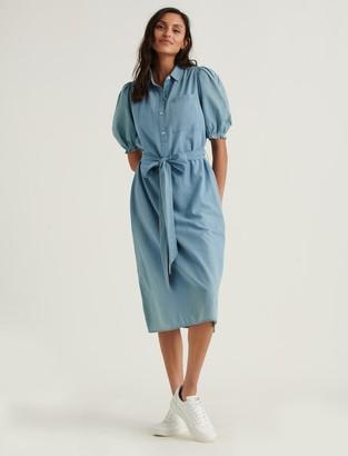 Lucky Brand Camille Midi Shirtdress