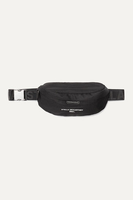 Stella McCartney Net Sustain Printed Shell Belt Bag - Black