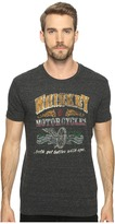 Lucky Brand Whiskey Motorcycles Graphic Tee Men's T Shirt