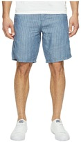 John Varvatos Triple Needle Shorts with Patch and Flap Pockets S131T1B