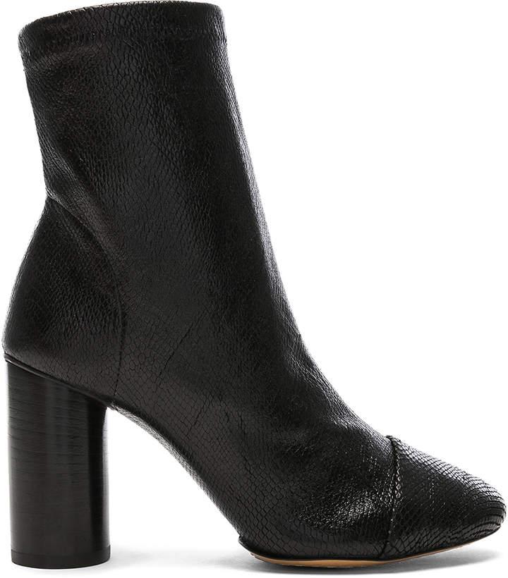 Isabel Marant Lizard Embossed Rillyan Boots