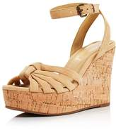 Splendid Women's Fallon Suede Wedge Sandals