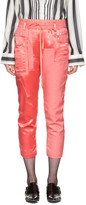 Haider Ackermann Pink Patchwork Lounge Pants
