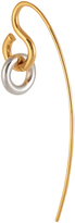 Charlotte Chesnais Swing Hook silver and gold-plated earring