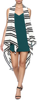 Charmed by JLM Stripe Chiffon Vest