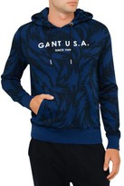 Gant All Over Feather Sweat Hoodie