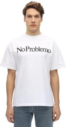Aries No Problemo Cotton Jersey T-Shirt
