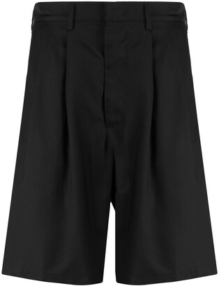Buscemi Front Pleated Shorts