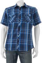 Rock & Republic Big & Tall Classic-Fit Plaid Button-Down Shirt