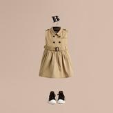 Burberry Stretch-cotton Trench Dress