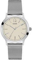 GUESS Men's Classic Stainless Steel Mesh Bracelet Watch 37mm U0921G2