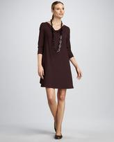 Eileen Fisher Cowl-Neck Dress, Women's