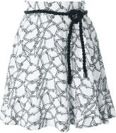 Kenzo rope print skirt - women - Viscose/Polyester - 38