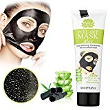 MEINAIER Blackhead Remover Mask,Peel Off Black Mask,Clear Pores &Acne ,Activated Charcoal Cleansing Removal Strip Mask