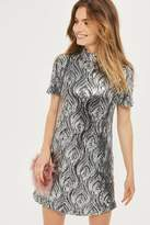 Oh My Love **Sequin High Neck Shift Dress