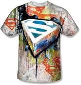 Superman Men's Urban Shields Sublimation T-shirt