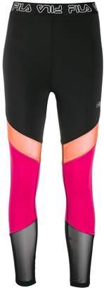 Fila colour blocked leggings