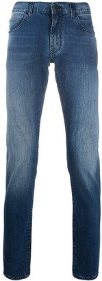 Emporio Armani Low-Rise Slim-Fit Jeans