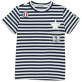 Moncler Star & Anchor Striped T-Shirt