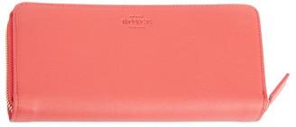 Royce New York RFID-Blocking Zip-Around Leather Wallet