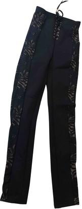 Agent Provocateur Black Trousers for Women