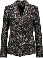 Proenza Schouler Asymmetric bouclé-felt blazer