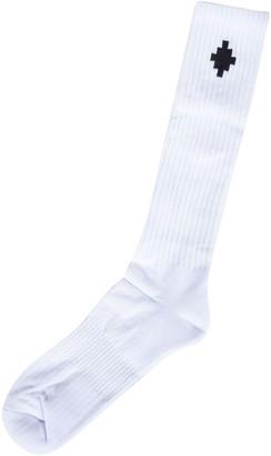 Marcelo Burlon County of Milan Cross Sideway Long Socks