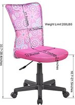 United Chair UOC-8007-FL Mid-Back Mesh Swivel Computer Office Desk Task Chair