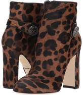 Dolce & Gabbana Bootie with Side Button High Heels