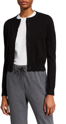 Brunello Cucinelli Cashmere Snap-Front Cardigan