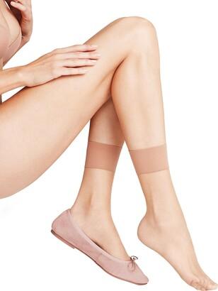Falke Women Shelina 12 DEN Anklets - Ultra-Sheer Matt Yellow (Sun 4299) UK 5.5-8 (Manufacturer size: 39-42) 1 Pair