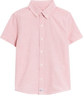 Vineyard Vines Stripe Whale Button-Up Shirt