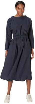 Snow Peak Organic Cotton Shirring Dress