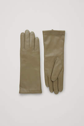 Cos WIDE LEATHER GLOVES