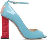 Camilla Elphick PEZ Gatto patent-leather courts