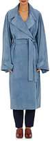 The Row Women's Suede Elkan Coat-BLUE, LIGHT BLUE