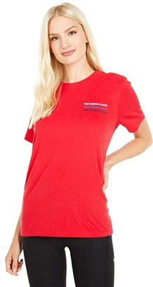 The North Face Freedom Short Sleeve Tee (TNF Navy) Women's Clothing