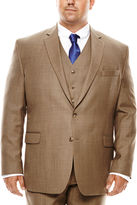 STAFFORD Stafford Travel Sharkskin Suit Jacket - Big & Tall