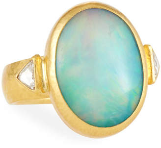 Gurhan One-of-a-Kind Gold Opal Cocktail Ring, Size 6.5
